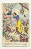 Blanche Neige. N°3. Ménage, écureuils, Lapins, Toiles D'araignée. Editions E. Séphériades. Walt Disney - Disney