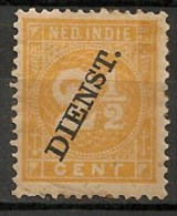 Timbres - Pays-Bas - Indes Néerlandaises - 1902-1909 - Dienst. - 2 1/2 Cent. -