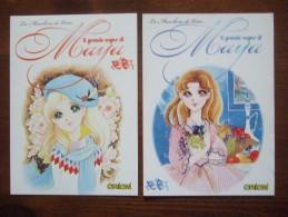 Il Grande Sogno Di Maya Manga Comic Lot De 2 Cartes Postales - Comics