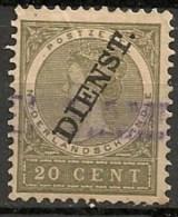 Timbres - Pays-Bas - Indes Néerlandaises - 1902-1909 - Dienst. - 20 Cent. -