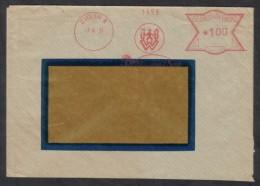 C01952 - Czechoslovakia (1937) Zvolen 1: Wittmann & Syn (logo) - Factories & Industries