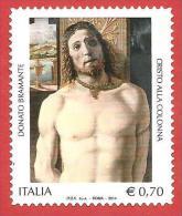 ITALIA REPUBBLICA USATO - 2014 - 500º Anniversario Della Morte Di Bramante - € 0,70 - S. 3466 - 2011-...: Usados