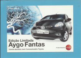 TOYOTA AYGO FANTAS - EDIÇÃO LIMITADA - PUBLICIDADE - Advertising - Portugal - 2 SCANS - Publicité