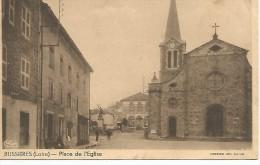 BUSSIERES   Place De L'Eglise - Otros Municipios