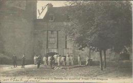 CPA De AUXONNE - Entrée Du Quartier Prost - 17e Dragons. - Auxonne