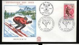 5 BELLE BUSTE  FDC DEI GIOCHI OLIMPICI INVERNALI DI GRENOBLE - 1968 - Inverno1968: Grenoble