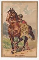 Chromo Bon Point LA SELLE Cheval Cavalier N°62 - Chromos