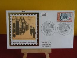 FDC - Journée Nationale Du Timbre - Paris - 10.3.1979 - 1er Jour - 1970-1979