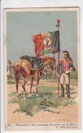 Chromo ETENDARD Des Troupes Du Port De SAINT MALO 1ere République N° 58 Cannonier - Chromos