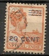 Timbres - Pays-Bas - Indes Néerlandaises - 1920-1922  -  22 1/2 Cent. -