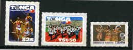 TONGA - 1983 - 11E JEUX COMMONWEALTH - FANFARE DANSE - Musique