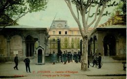 N°39673 -cpa Avignon -caserne D'Hautpont Occupée Par Le 7è Génie- - Barracks