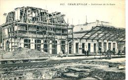 N°39677 -cpa Charleville -intérieur De La Gare- - Stazioni Senza Treni