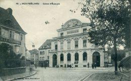 N°39686 -cpa Montbéliard -caisse D'Epargne- - Banques