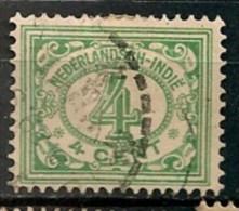 Timbres - Pays-Bas - Indes Néerlandaises - 1920-1922  -  4 Cent. -