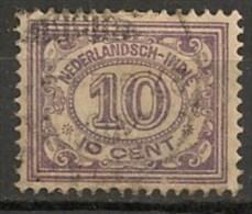 Timbres - Pays-Bas - Indes Néerlandaises - 1920-1922  -  10 Cent. -