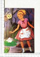 ALICE   Au   PAYS   Des   MERVEILLES   -   Alice  -  Chouette  -   Grenouille - Fairy Tales, Popular Stories & Legends