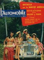 Revue Automobile 1957 Tahiti Vahinés Papeete Paquebot MM Messageries Maritimes TAI - Tahiti