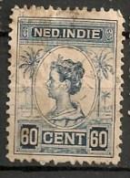 Timbres - Pays-Bas - Indes Néerlandaises - 1920-1922  -  60 Cent. -