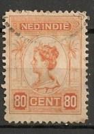 Timbres - Pays-Bas - Indes Néerlandaises - 1920-1922  -  80 Cent. -
