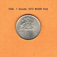 CHILE   1  ESCUDO  1972  (KM # 197) - Chile