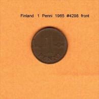 FINLAND   1  PENNI  1965  (KM # 44) - Finland