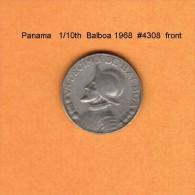 PANAMA   1/10th  BALBOA  1986  (KM # 10a) - Panama