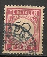 Timbres - Pays-Bas - Indes Néerlandaises - 1902-1909 - Taxes - PORT - 50 Cent. -