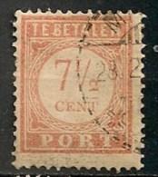 Timbres - Pays-Bas - Indes Néerlandaises - 1902-1909 - Taxes - PORT - 7 1/2 Cent. -