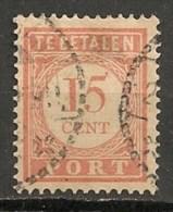 Timbres - Pays-Bas - Indes Néerlandaises - 1902-1909 - Taxes - PORT - 15 Cent. -