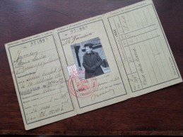 Carte D´ Identité JAMSIN Marie Louise - DECHAMPS Guillaume - Né 20 Sept 1861 Soheit Tinlot Liège ( Voir Photo ) ! - Non Classés