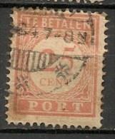 Timbres - Pays-Bas - Indes Néerlandaises - 1902-1909 - Taxes - PORT - 25 Cent. -
