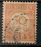 Timbres - Pays-Bas - Indes Néerlandaises - 1902-1909 - Taxes - PORT - 30 Cent. -