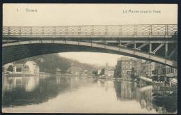 Dinant  La Meuse Sous Le Pont - Dinant
