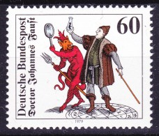 BRD 1979 Johannes Faust - Astrologie