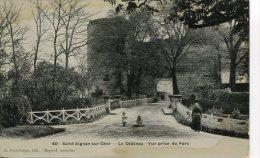 Loir Et Cher Saint Aignan Sur Cher Le Chateau Vue Prise Du Parc - Saint Aignan