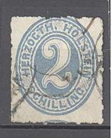 Holstein: Yvert N°13°; Cote 200.00€ - Schleswig-Holstein