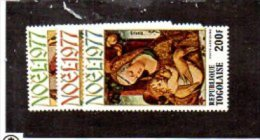 Togo YT PA 333-335 XX / MNH Crivelli - Cristianesimo