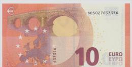 ITALY  10 Euro Draghi S002E5 UNC - EURO