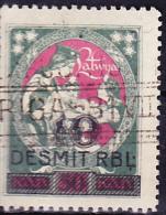 Lettland Latvia Lettonie - Ausgaben Mit Aufdruck/Spending With Print/Les Dépenses D'impression  1920/1 - Gest. Used Obl. - Lettonie