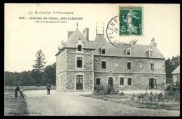 Cpa Du 22  Près De Lamballe Château Du Créhu à M. Le Commandant Du Créhu   JUI34 - Lamballe