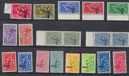 1962 ** (eccetto San Marino E Liechtenstein) - 1962