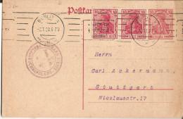 1920 Berlin Stutttgart-dietze Verlagebuch-editeur - Lettres & Documents