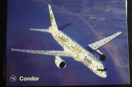 AIRLINES ISSUE / CARTE COMPAGNIE     CONDOR - 1946-....: Moderne