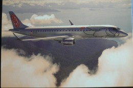 AIRLINES ISSUE / CARTE COMPAGNIE    NIKI  EMBRAER 190 - 1946-....: Moderne