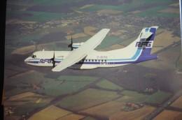 AIRLINES ISSUE / CARTE COMPAGNIE    RFG   REGIONALFLUG - 1946-....: Moderne