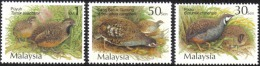 2001 Bird Quail & Partridges Malaysia Birds Stamp MNH - Malaysia (1964-...)