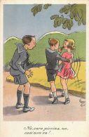 [DC5606] CARTOLINA - NO, CARA PICCINA, NO, COSI' NON VA!... - CP - V - Old Postcard - Humor