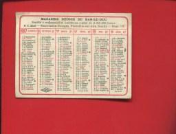 MEUSE BAR LE DUC PIERREFITTE SUR AIRE SOUILLY REVIGNY MINI CALENDRIER MAGASINS REUNIS 1927 - Calendari