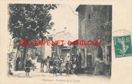 04 --- PIERREVERT    Fontaine De La Frache  ANIMEE - Altri Comuni